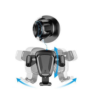 Baseus Gravity Car Mount Car Holder Rotation