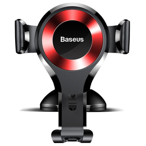 Baseus Oscolum Car Phone Holder Multi Angle Red