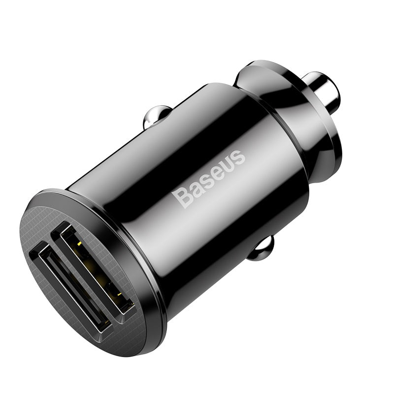 Baseus Rice Grain USB Car Charger Close View