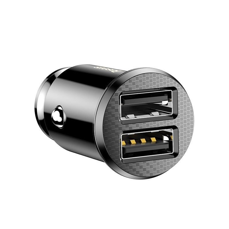 Baseus Rice Grain USB Car Charger Back View