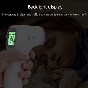 Non Contact Thermometer Backlit Display For Nighttime