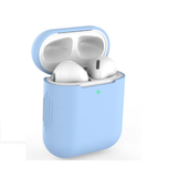 Apple Airpods 2 Case Front View Sky Blue