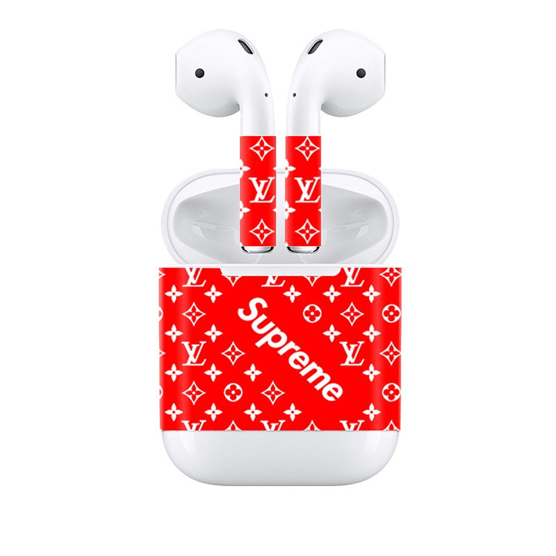Apple Airpods Stickers Supreme Decals Stickers Full View