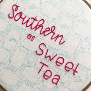 Southern as Sweet Tea