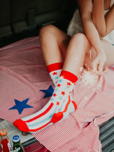 Load image into Gallery viewer, Stars & Stripes Socks