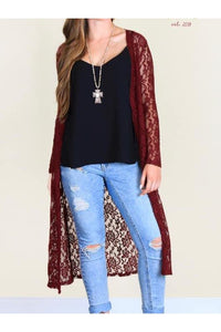 Holly's Lace Duster