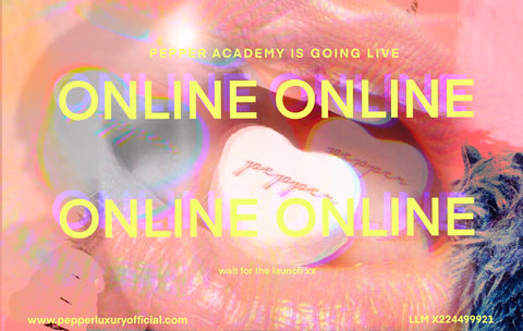 PEPPER academy online hair extension training