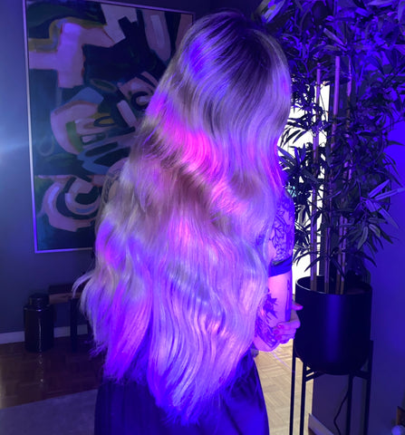 pepper luxury hair extensions no heat waves Calgary Canada