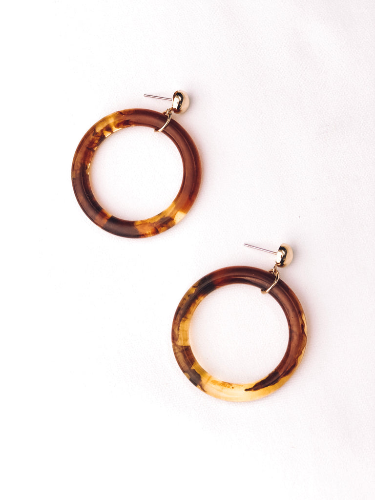 Jump Through Hoops Earring