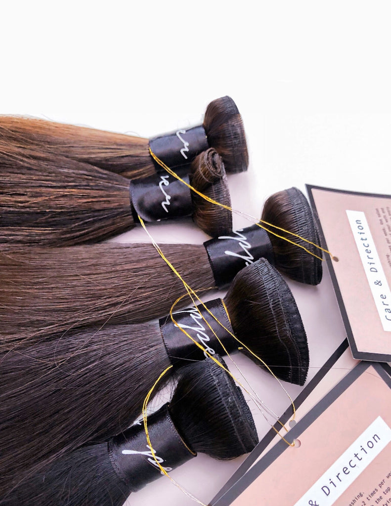 70% Cacao Ribbon Weft