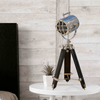 Black Wooden Table Lamp