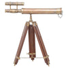 Nautical Antique Finish Table Telescope