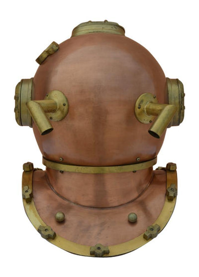 Antique US Navy Mark V Deep Sea Marine Divers Helmet