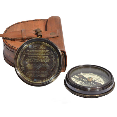 Brass Antique Pirates Compass