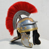 Roman Legionnaire Gallic Trooper Red Plume Armour Helmet