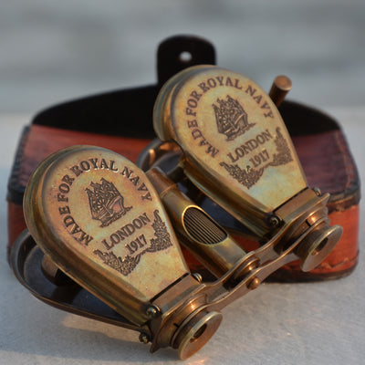 Royal Antique Vintage Finish Nautical Binocular