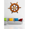 Wooden Ship Wheel Wall Decor