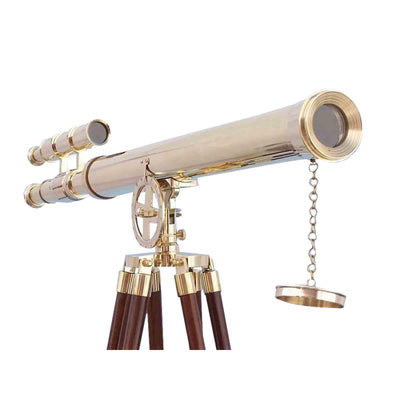 Heavy Duty Brass Telescope 1 Meter