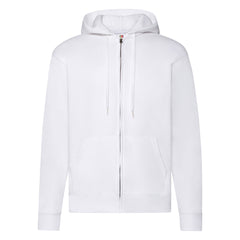 Zip Thru Hooded Sweat Jacket