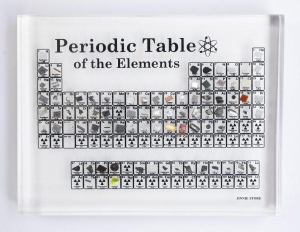 Heritage Periodic Table Display
