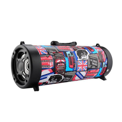 Last Day Promotion 50% Off - Wireless Bluetooth Waterproof Portable High-power Music Barrel Bluetooth Speaker