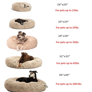 (Last Day Promotion,50% OFF) Comfy Calming Dog/Cat Bed
