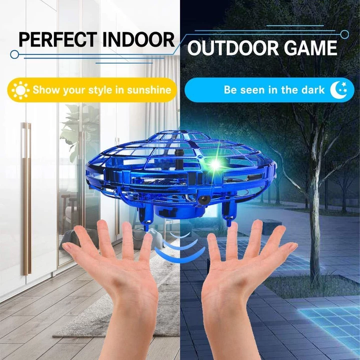 Christmas Present-2019 New Mini Drone Quad Induction Levitation UFO -Buy 2 Free Shipping,Buy 3 Get 4