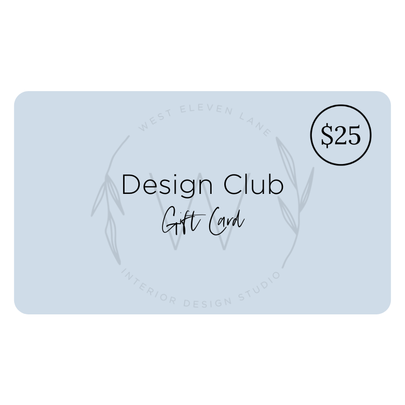 Design Club Gift Card