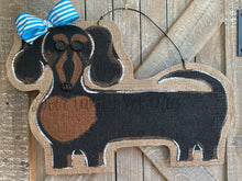 Load image into Gallery viewer, Dog Door Hanger - Doxie