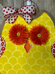 Yellow & Red Owl