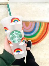 Load image into Gallery viewer, Reusable Cup in Rainbows
