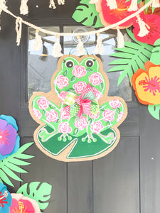 Frog Door Candy in Lilly Inspired Roses