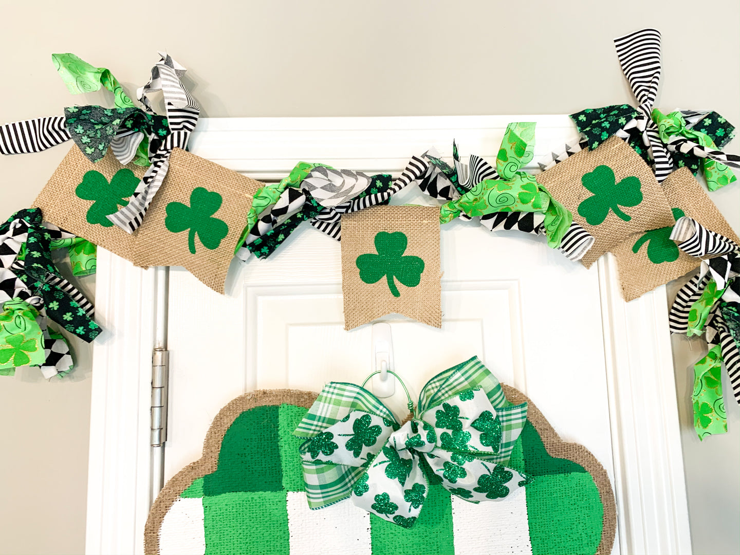 St. Patrick's Day Hand Tied Garland