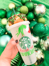 Load image into Gallery viewer, Drink Up Grinches Reusuable Cold Cup