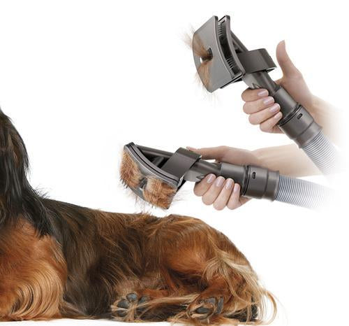 Vacuum Grooming Brush for Pets