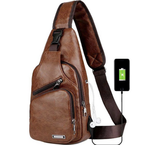 LUXURY CROSSBODY BAG WITH USB - LIMITED EDITION
