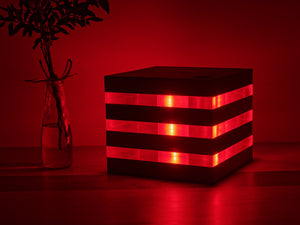 art futuro's Acrylic Light Cube without the light turned on
