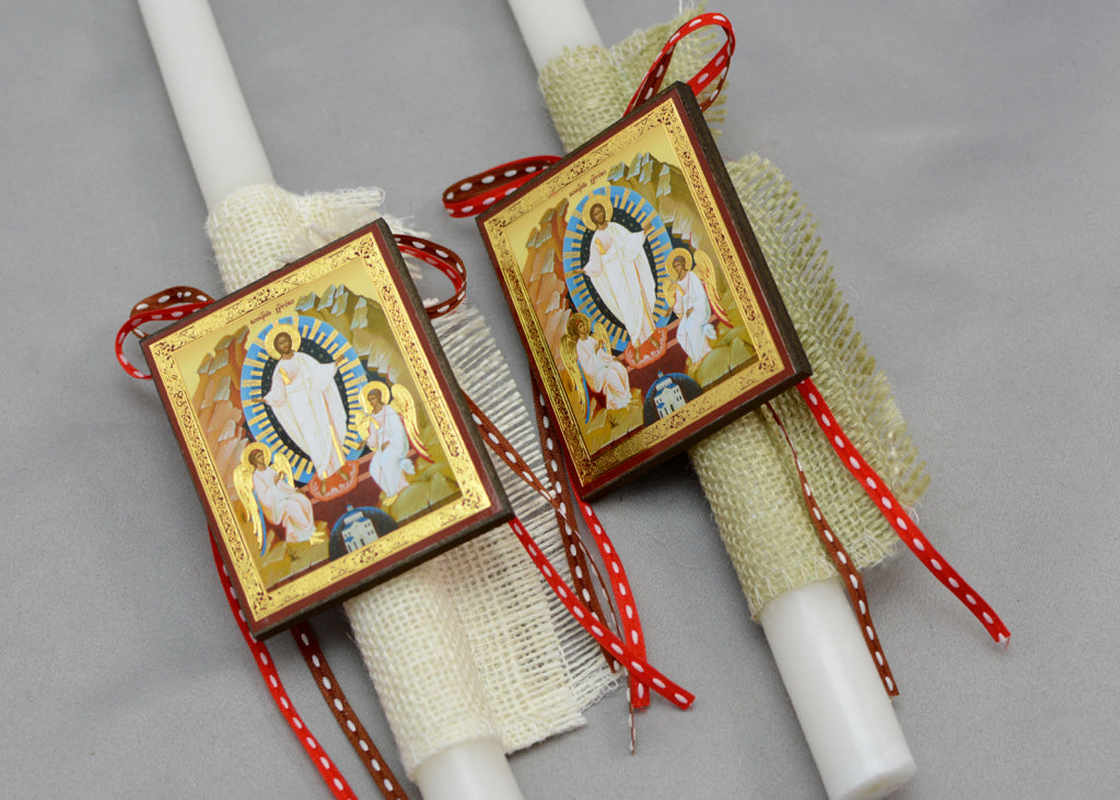 Resurrection Easter Candles