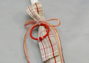 Red Prayer Rope Easter Candles