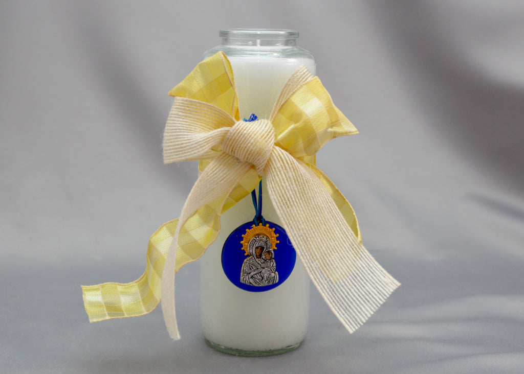 Bright Week Easter Candles -  Blue/Gold Collection