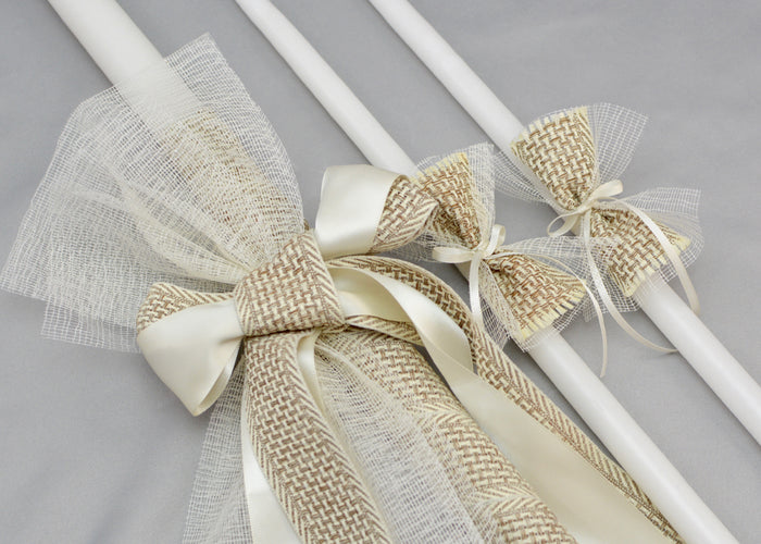 Theodoros Baptism Candles | 24""