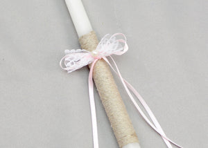 Antonia Baptism Candles