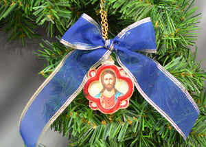 Cross Shape Icon Christmas Tree Ornaments