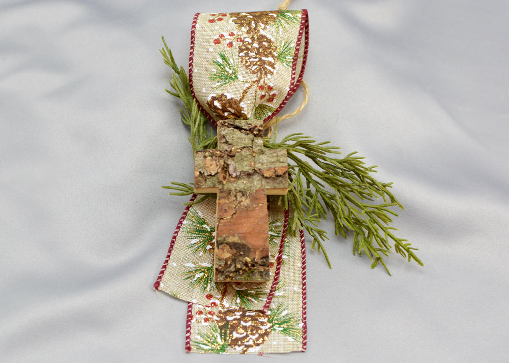 Rustic Christmas Tree Ornaments