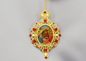 Nativity Icon Pendant