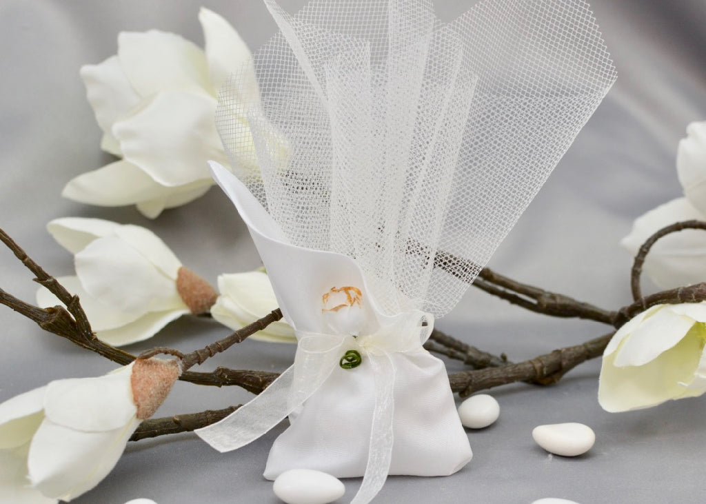 Angled Pouch Wedding Favor