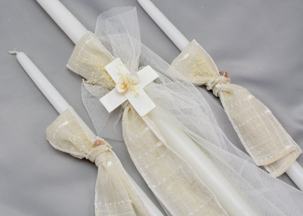 Sotiris Baptism Candles