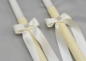 Forever Wedding Crowns and Candles | Ivory