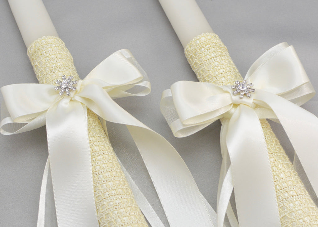 Forever Wedding Candles | Ivory