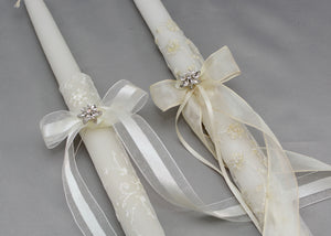 Life's Fairytale Wedding Candles